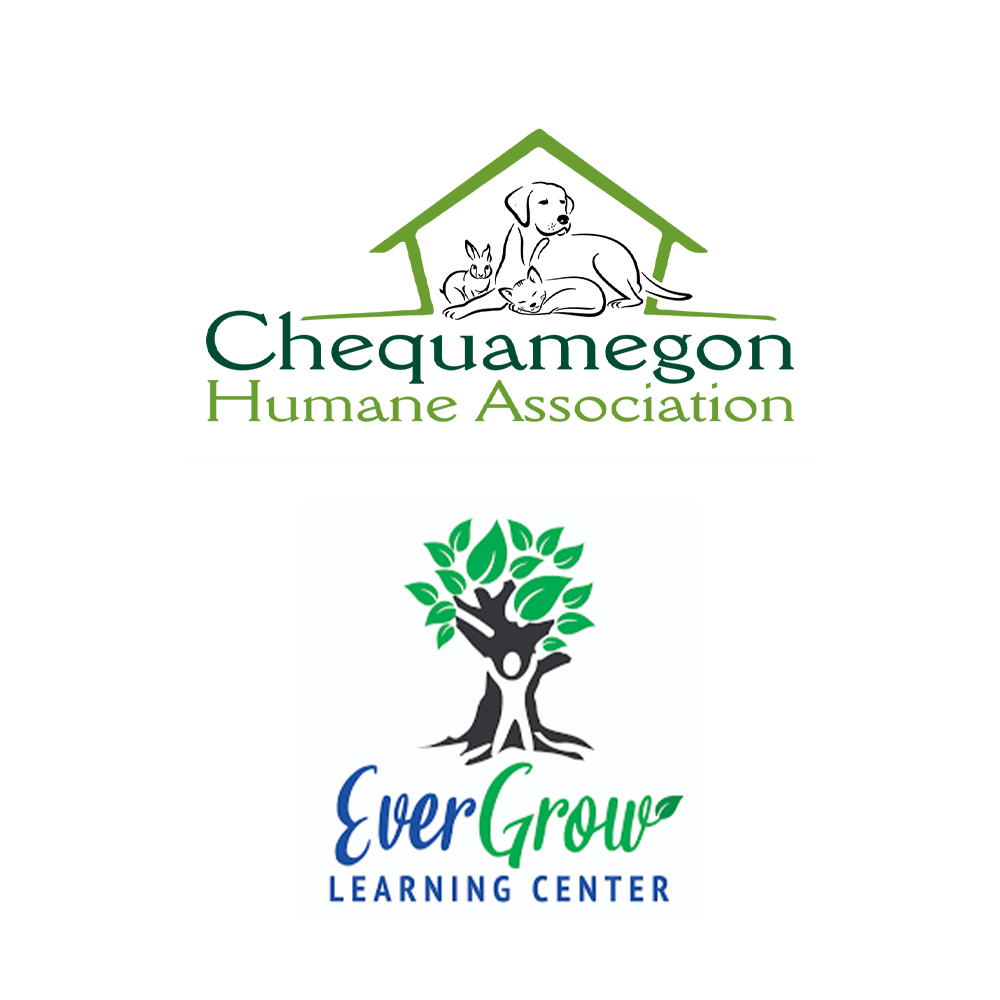 Give to the Chequamegon Humane Association & EverGrow Learning Center