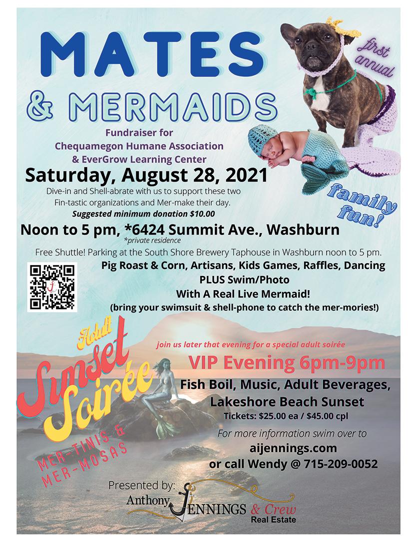 Mates & Mermaids Fundraiser